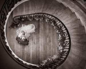 Eastington Park Spiral Wedding Staircase