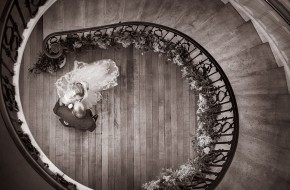 Spiral Wedding Staircase