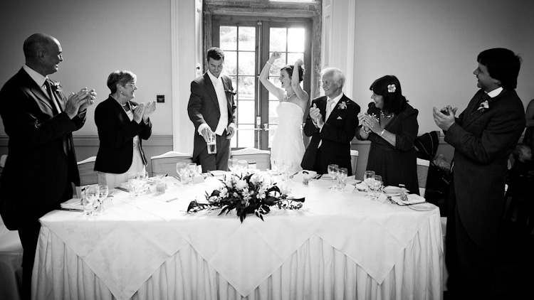 Clearwell Castle Wedding Photograph