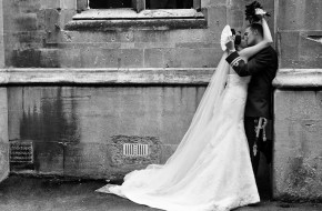 Wedding photograph Cheltenham Ladies College