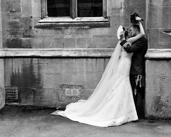 Wedding photograph Cheltenham Ladies College