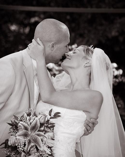 Wedding Photograph Black and White