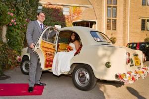 Hatton Court Wedding Picture