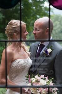 Rococo Gardens Wedding couple