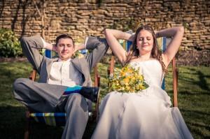 Winkworth farm wedding photo