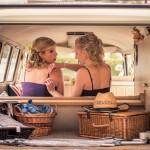 Bridesmaids, Split screen Campervan