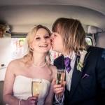 Hardwicke Church Wedding, SPilt screen Campervan