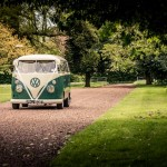 Eastwood Park Wedding Picture, Spilt screen camper van