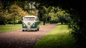 Eastwood Park Wedding Picture, Spilt screen camper van