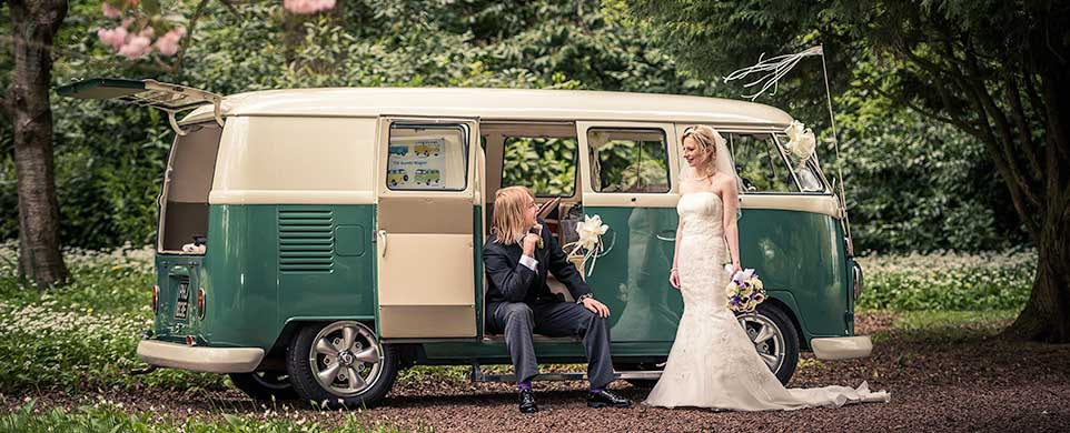 Split Screen VW Campervan wedding