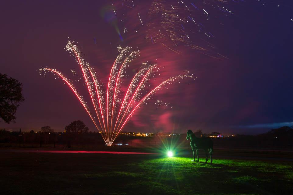 Ellenborough Park Hotel Fireworks