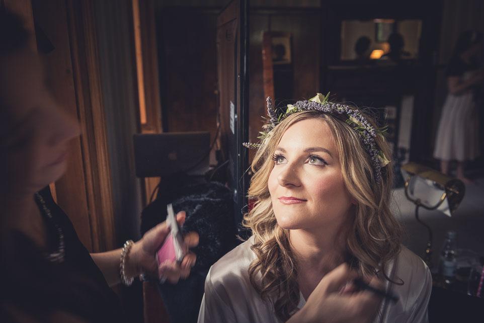 Castle Combe Wedding photograph