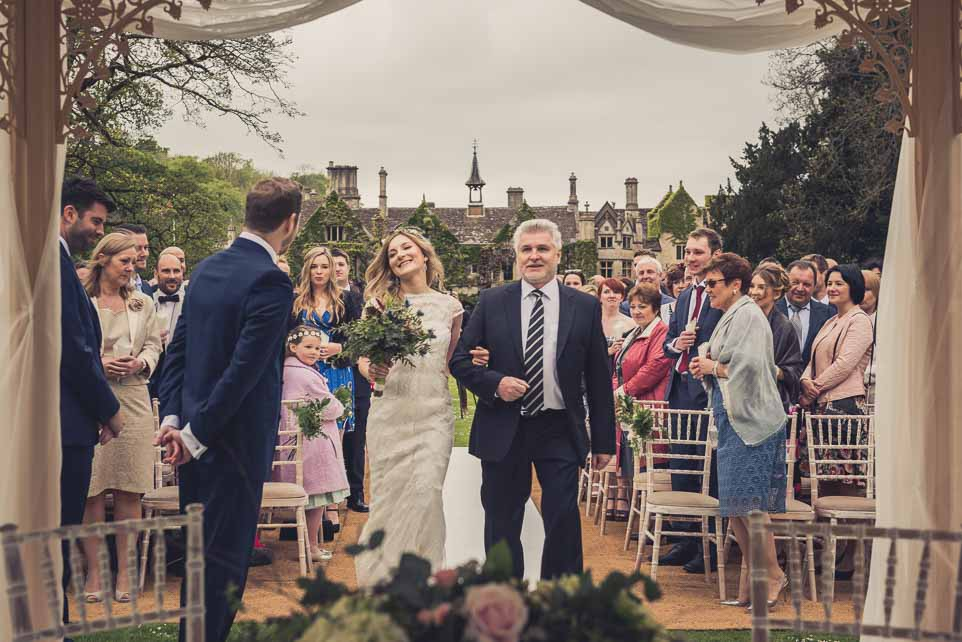 Castle Combe Wedding photograph