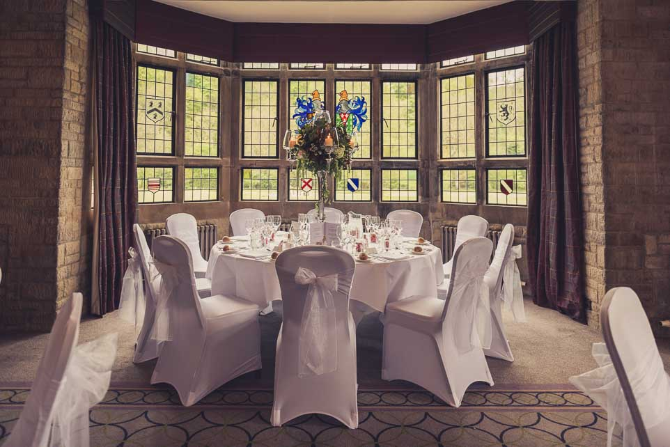 Castle Combe Wedding photograph, Main room.